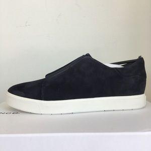 Vince Cantara Coastal Blue Suede Sneakers NEW